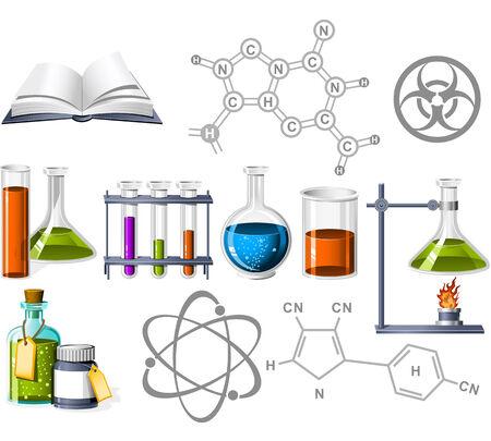 Iconos de la ciencia y la Química
