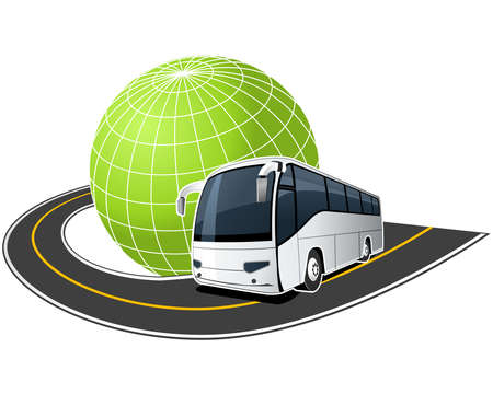 coach bus: Around the world
