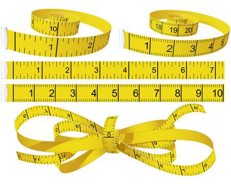 Misurazione Tapes  Vettoriali