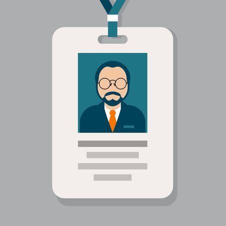 Bedienend personeel pasje - toelating badge