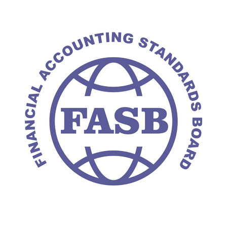 FASB stamp - Financial Accounting Standards Board emblem