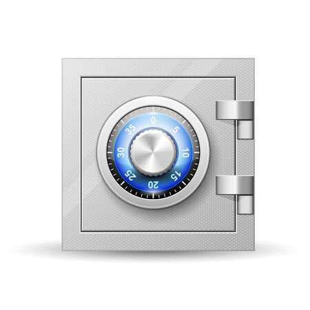 Cassaforte con serratura a combinazione - cassaforte, cassetta di sicurezza con pomello girevole con numeri