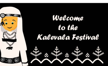Kalevala. Finnish epic. Kalevala festival. Carnival. The peoples of the north.