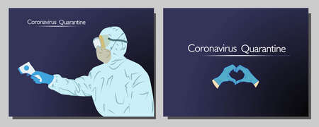 Coronavirus in the world. New Coronavirus 2019-nKoV , a man in a white medical mask and protective suit. The concept of coronavirus