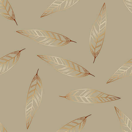 Summer print of exotic plants jungle tropical leaves, pattern, seamless floral vector on a light background.Nature wallpaper. Trendy modern pattern. Fabric and textile design. Print for bed linen. Illustration