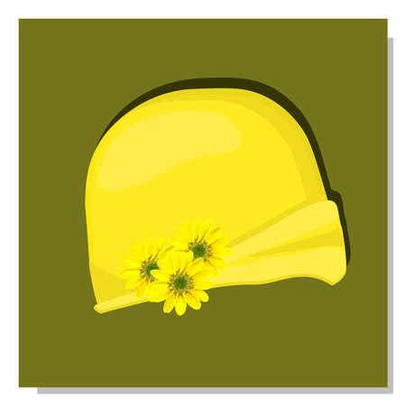 Women's children's hat. Summer hat for girls. The era of art nouveau costume.