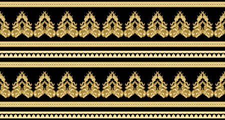 Scythian ethnics. Scythian ornament seamless. Zoological style. Historical seamless pattern. Northern Black Sea region art and culture. Animal in the ancient world. Ethnic pattern