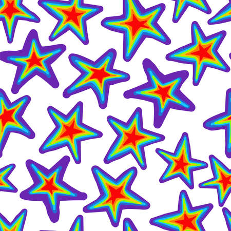 rainbow pattern. Bright summer pattern seamless. Summer trending design. Summer 2021.gay pride colors. lgbt. Vectores