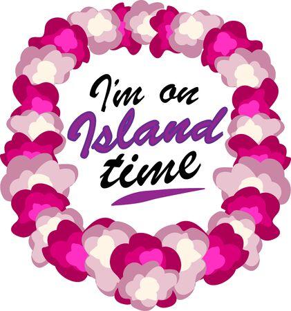 laurier rose: Porter Tropical fleur lei pour bien para�tre. Choisissez ceux conception par Ann Le Gran
