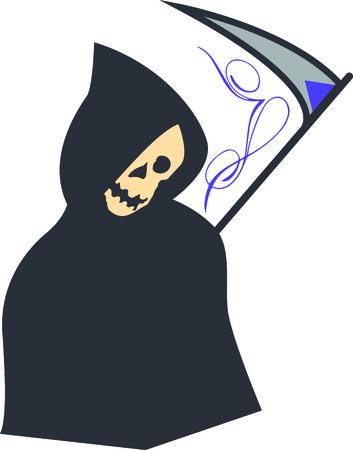 Attention! Ghosts se rassemblent ici. Préparez-vous à avoir une envoûtante délicieuse Halloween avec cette conception de vos projets de vacances! Banque d'images - 44731404