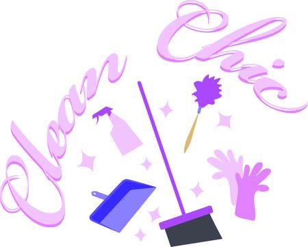 영광스러운 봄 튀었 어! 수건, 세탁 가방, 앞치마 등에 대한이 디자인으로 봄 청소를 킥 오프!