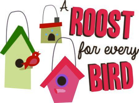 This design is for the bird lovers. Ilustração