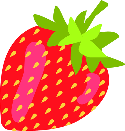 Strawberries Are Rich In Vitamins- Strawberries are a good source of vitamin C and have high fibre content