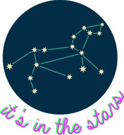 personality: Add some personality to your next project with these zodiac constellation designs. Illustration