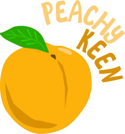 peachy: Wonderfully delicious peaches are low in calories and contain no saturated fats
