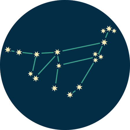 Add some personality to your next project with these zodiac constellation designs. Illusztráció
