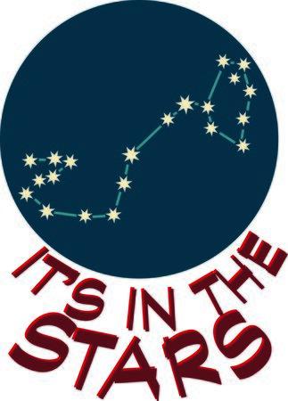 Aggiungete un po 'di personalità al vostro prossimo progetto con questi disegni delle costellazioni zodiacali. Archivio Fotografico - 44731696