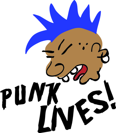 mohawk: This  punk is perfect for your favorite punk.