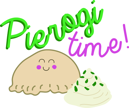 fond: A favorite of anyone fond of Poland, use this pierogi for your friend.