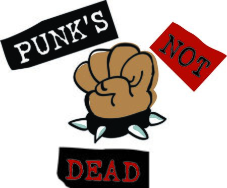 This punk fist is perfect for your favorite punk.