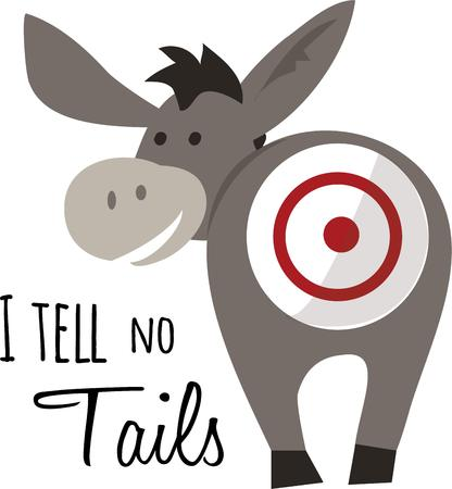 Pin the tail on the donkey is a classic game for a birthday party.