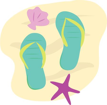 plugger: Accent a beach towel with a fun scene for a day in the sun.