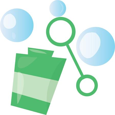 Make playtime fun with blowing bubbles,