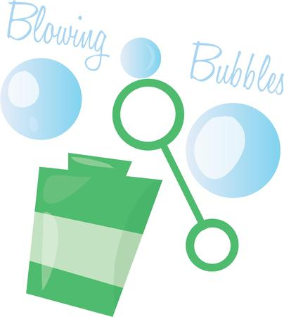playtime: Make playtime fun with blowing bubbles,