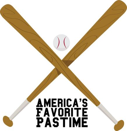 americas: Baseball fans will love some great sports equipment.
