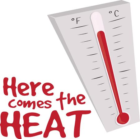 Get the summer off to a hot start with a thermometer.