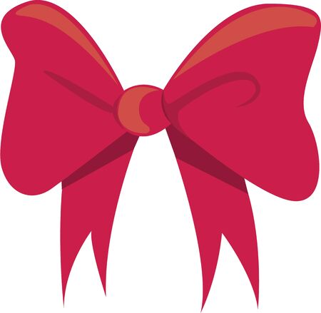 Decorate a special project with a gift bow.