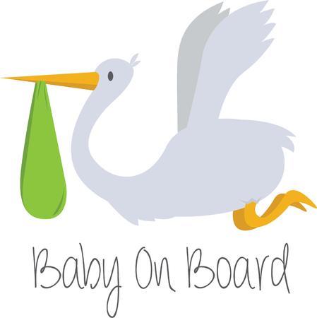 bekleyen: Make a great gift for an expectant mother. Çizim
