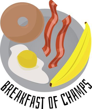 Accent la vostra cucina per un pasto delizioso prima colazione. Archivio Fotografico - 44836171