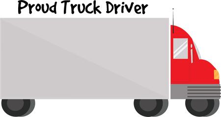 Men love trucks and they will like this big vehicle.