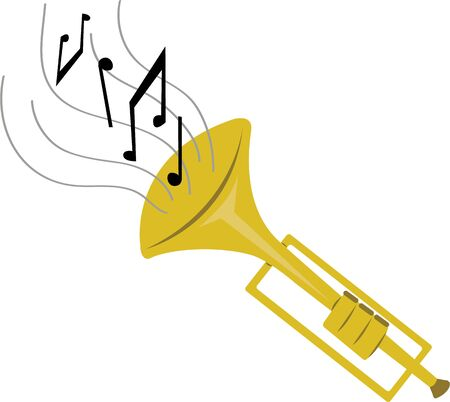 marching band: Make beautiful music with a trumpet.