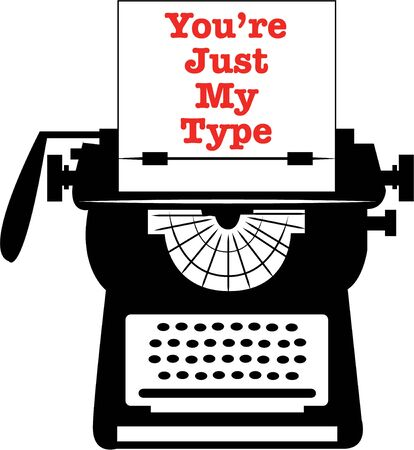 Be creative with a vintage typewriter.