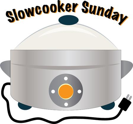 slow food: Hanno un grande pentola di coccio in cucina.