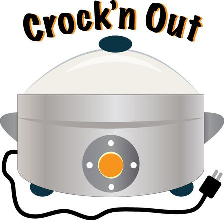 slow food: Have a great crock pot in your kitchen.