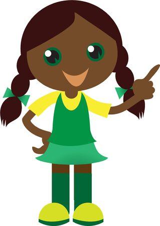 african girls: Make a friend for a little girl.