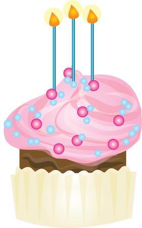 誕生日パーティーのためには、おいしいカップケーキを作る。