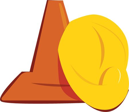 construction equipment: This design will make a great logo for a construction firm. Illustration