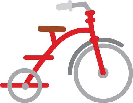 Children will love to have this tricycle to play with.