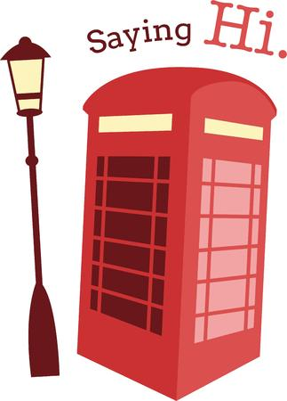 british culture: A British phone booth is a classic European symbol for a travel project.