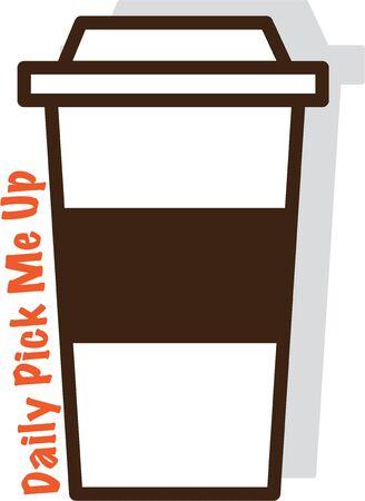 このカップに行くといつでもコーヒーがあります。