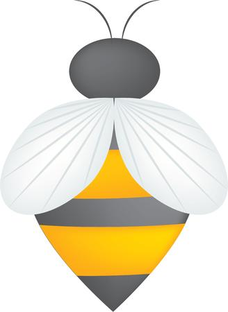 bumble: A bee will add color to your projects.