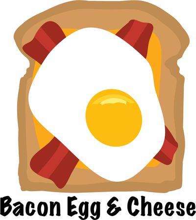Machen Sie einen großen Nahrungsmittelentwurf für ein lustiges Frühstück. Standard-Bild - 44805336