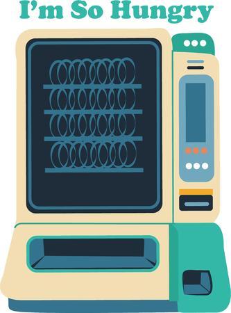 distribution automatique: Obtenez une collation sur cette machine.