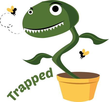 This silly fly trap will look great with your gardening gear.