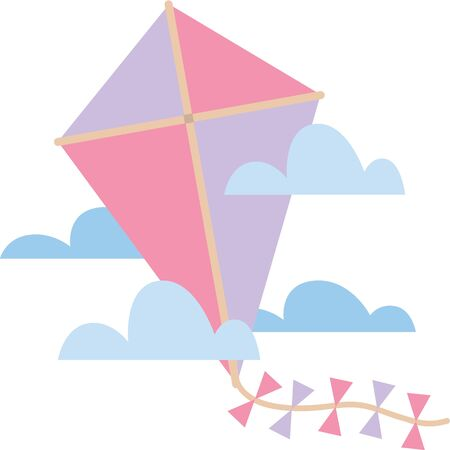 fun day: Add a colorful kite to a t-shirt for a fun day of outdoor adventures.