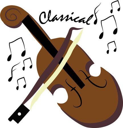 바이올린으로 아름다운 음악 만들기,